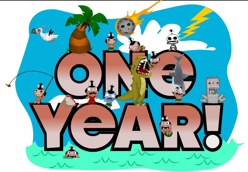happy 1 year anniversary funny